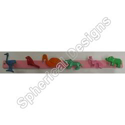 Animal Knobs Wall Hanger