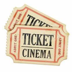 Ticket Cinema Paper