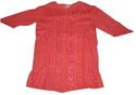 Ladies Cotton Blouses(Red)