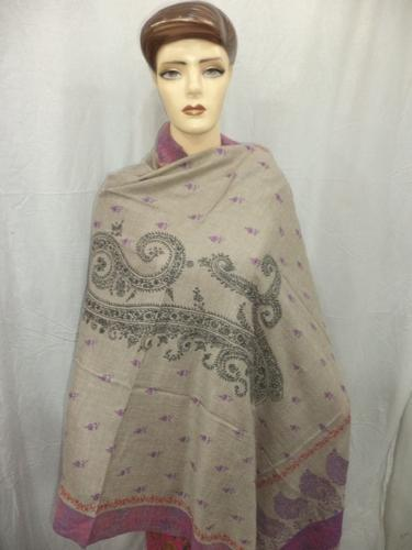 100% Hand Made Natural Colour Cashmere Shawls
