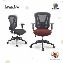 Wipro Steel & Foam Fabric Executive Office Chairs
