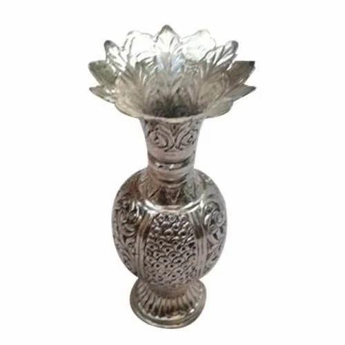 Antique Metal Vases Vase And Cellar Image Avorcor