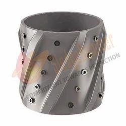 Aluminum Spiral Vane Solid Rigid Centralizer(Fix) 01 DAS03