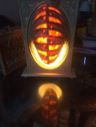 Wooden Decorative Oval Lamp