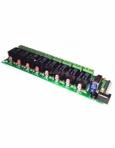 8 Channel Relay Board(12V) | Robokraft Technologies