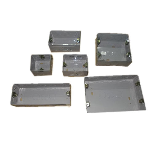 Modular Switch Boxes - Zinc Plated Modular Boxes Manufacturer from ...