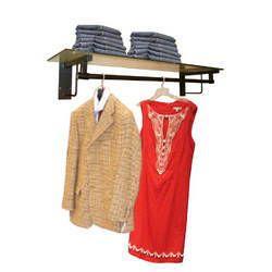 Hanging Cum Shelf Racks For Garments