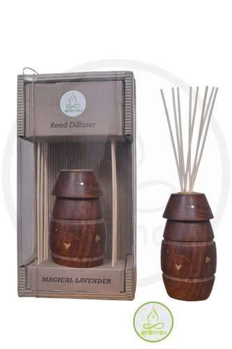 Wood Brown Aromax Brand Aromatic Reed Diffuser