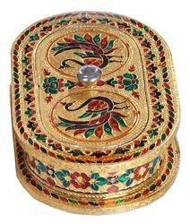 Capsule Shaped Handmade Decorative Box