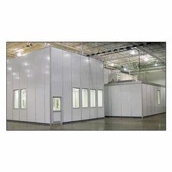 Aluminium Modular Cleanrooms, For Pharmaceutical Industry, Powder Coated