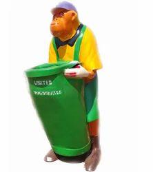 FRP Monkey Dustbin