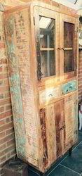 Reclaimed Wood Retro Almirah