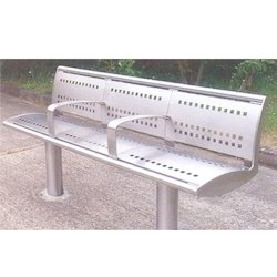 Stainless Steel Street Bench