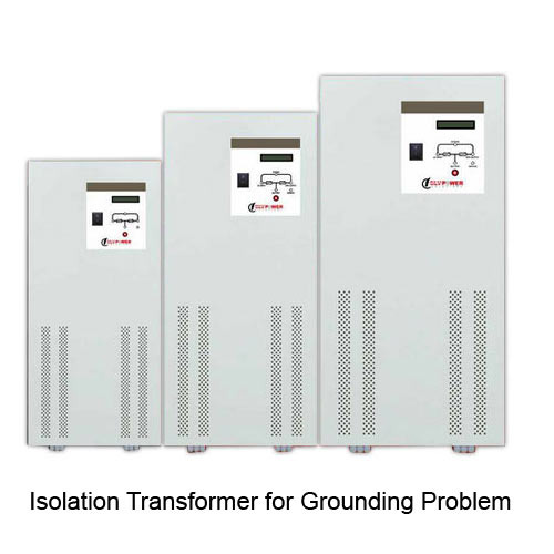 Isolation Transformer for Grounding Problem - Slv Power Solutions
