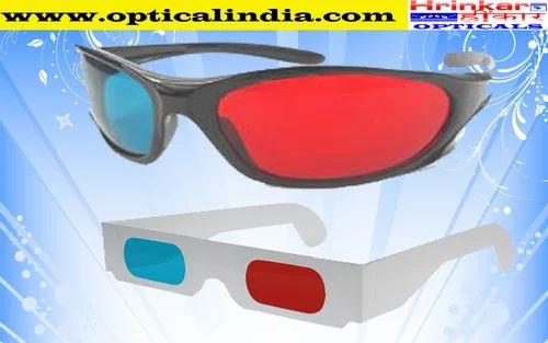 7ae8ffddb50 Anaglyph Red and Cyan 3D Glasses - Hrinkar Opticals