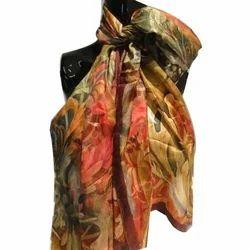 Fancy Silk Digital Scarves