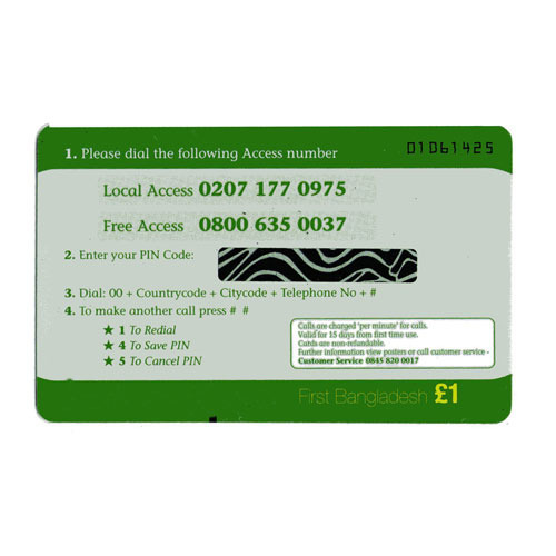 Calling Card At Best Price In India