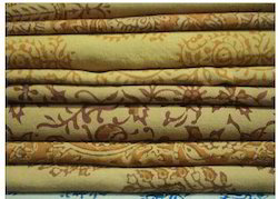 Natural dyed Block Printed Fabric