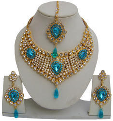 Color Hand Made Jewelry Wedding Necklace Set