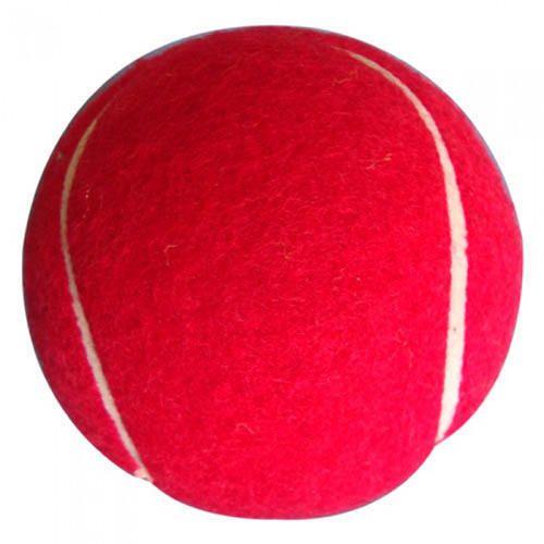 Guru Hard Cricket Tennis Ball Pack of 6 Red Balls
