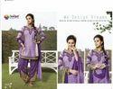 Designer Embroidered Patiala Salwar Suit (608)