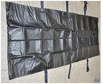 Center Zipper without Transparent sheet Dead Body Bags