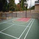 篮球场上建设