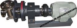 MICROTECH ENGINEERING Single Stage Scrubber Pump, Max Flow Rate: 0.5 To 100 M3/Hr, IP