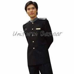 Black Chauffeur Jacket- Driver U-1