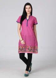 Jaipuri Printed Cotton Kurtis