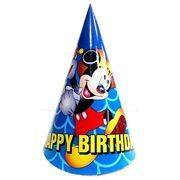 Happy Birthday Caps Mickey Mouse Birthday Party Hats Gifteria In
