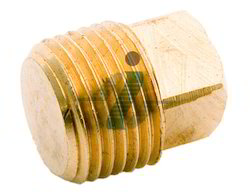Brass Square Pipe Plug