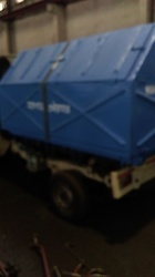 Vehicle Mounted Mobile FRP Garbage Box
