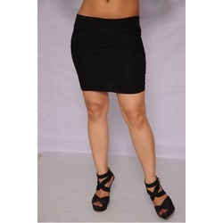 Mini Skirt - Plain Red Mini Skirt Manufacturer from New Delhi