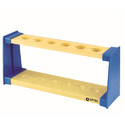 Test Tube Stand Wood & Plastic