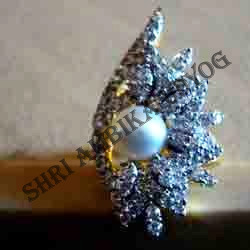AD Pearl Ring