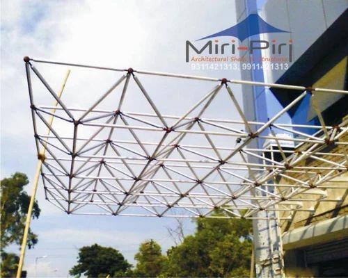 Steel Space Frame Structure Nitnava Engineering Works