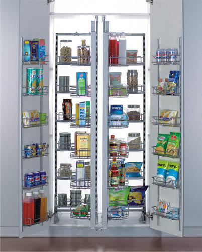 Modular Kitchen Tall Unit Pantry Unit Manufacturer From