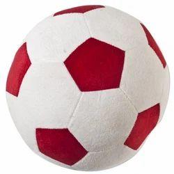 Red & White Soccer Ball