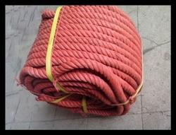 Red 14 Mm Plastic Recycled Rope, for Industrial