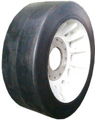 Aerobridge Solid Rubber Tyre