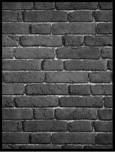 Grey Black Brick Wallpaper 3d Wallspace Designer Decor