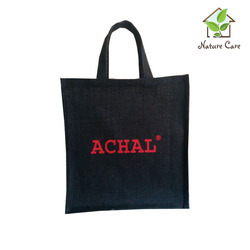 Black Jute Promotional Bag