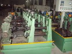 Units manufacturing steel pipes