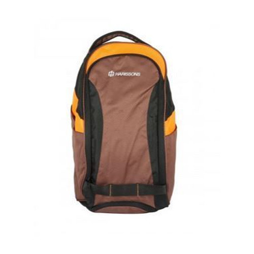 6c3ebb01c554 Neon 45l Brown And Neon Orange Gym Bag