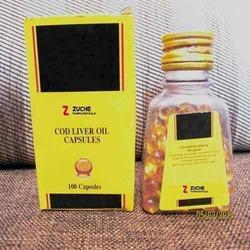 Cod Liver Oil Softgel Capsule