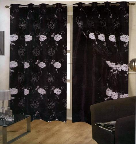 Tissue Curtain With Saturn Lining