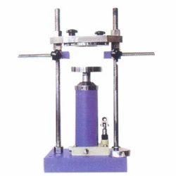 universal extruder frame hydraulic sample extruder