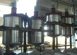Chemical Plant Mixers