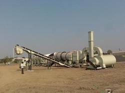 Asphalt Drum Mix Plant Unit Model Dm-45